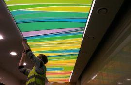 фотопечать натяжных потолков фотография