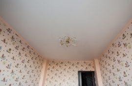 натяжной потолок сатин изображение